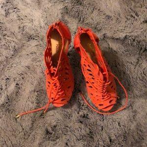 Charlotte Russe Fashion Strappy Stilletto heels